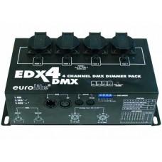 izposoja - Eurolite EDX4 dimmer  DMX 4 kanali/ 5A